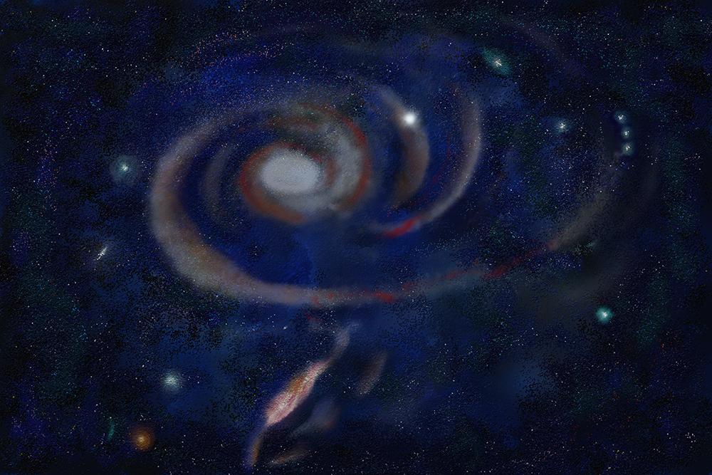 Nuvens de estrelas