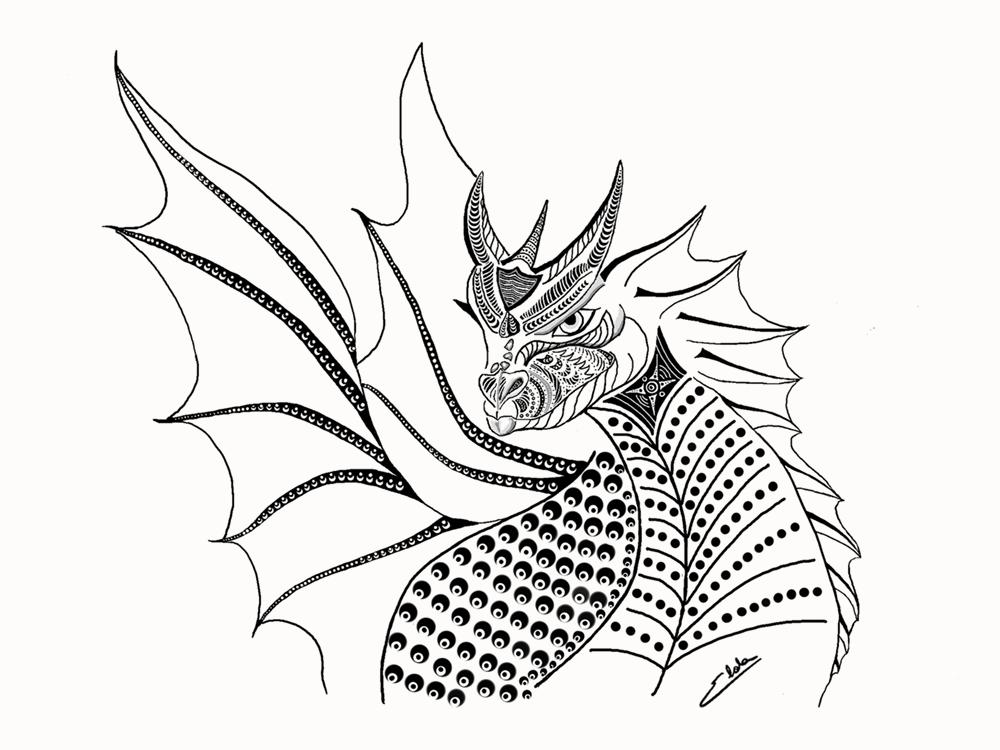 Dragão - Imaginário infantil