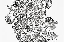 Entre flores e arcos