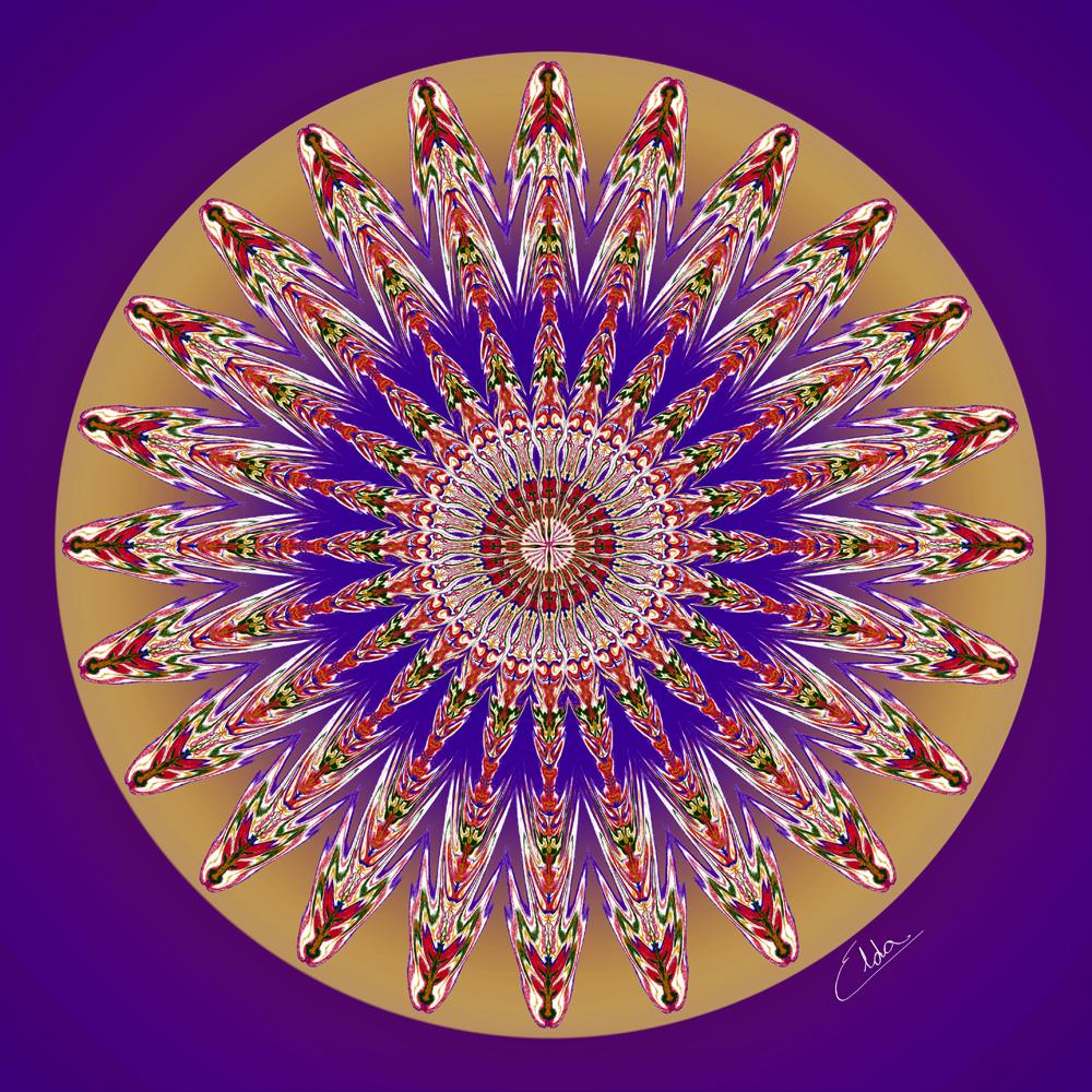 Mandalas místicas – meditação e expressão