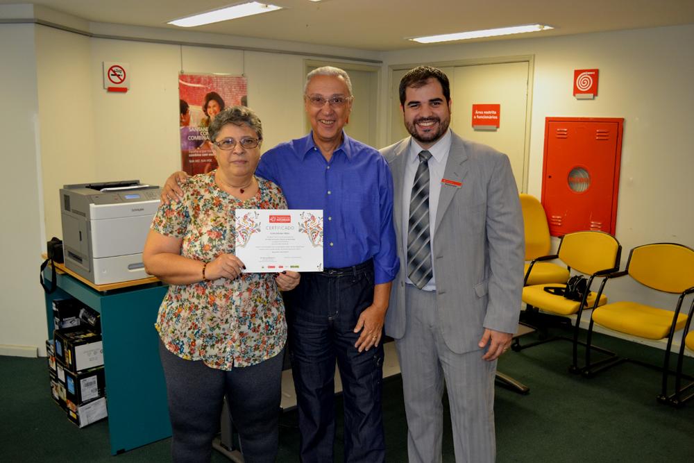 Premiação – Talentos da Maturidade – Banco Santander