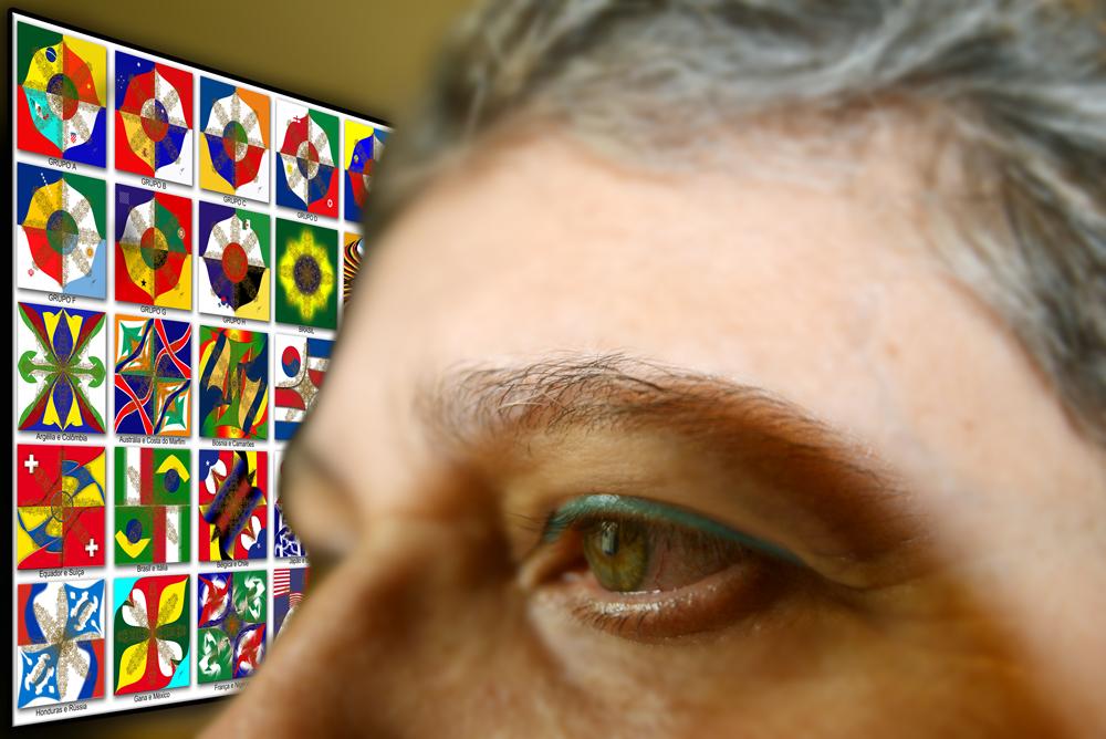 Mandalas da exposição – Fronteiras Imaginárias em um só Sonho