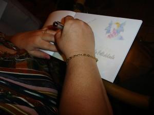 Autografando Anjos do Coração e da Felicidade
