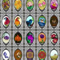 Páscoa – Cartões – Arte em papel