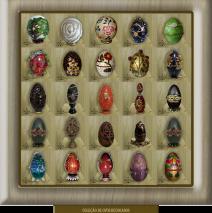 Apresentação de ovos decorados – Elda Evelina